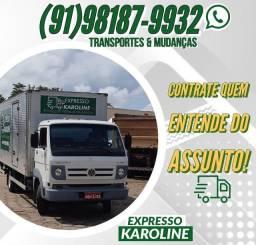 Mudanças & Transportes(MELHOR PREÇO DO MERCADO!)