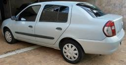 Clio Sedan 2008 !.6 flex, completo, muito conservado