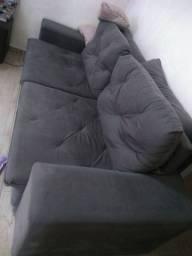 Vendo sofá cinco lugares