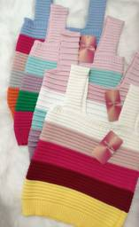 Cropped tricô R$49,99