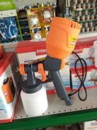 Pistola elétrica 450 watts intech ( melhor que o compressor ar direto)