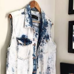 colete Jeans Lady rock