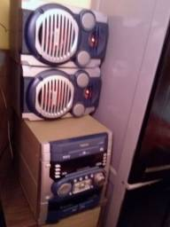 Toshiba radio am e fm peg cd e cabo auxilair