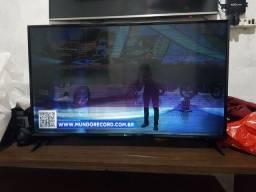 vendo essa smart tv LG 49 (com essas listras)R$550.00