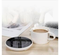 Título do anúncio: Tapete Aquecedor Elétrico De Xícara Sensor De Microgravidade