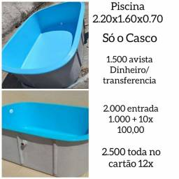 Piscina 220x160x070