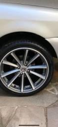 Rodas e pneus Hannkook 205 x 40 x 17 VZR