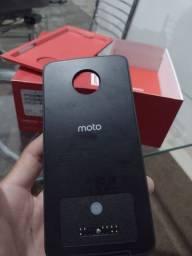 Caixa e moto snap do Motorola z2