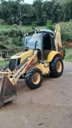 Retro Escavadeira New Holland b110b
