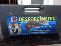 Desforcímetro Camber e Caster