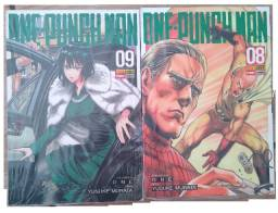 Mangás One Punch Man Volumes 08 Ao 09 !!!!