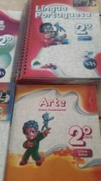 Coleção de livros Didáticos SAS 2° Ano