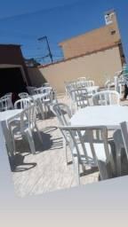 Locação de mesa e cadeiras