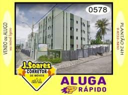 Valentina, Térreo, 2 qts, 1 suíte, 60m², R$ 600 C/Cond, Aluguel, Apartamento, João Pessoa
