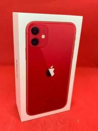 iPhone 11 64GB Red - Lacrado 1 ano garantia