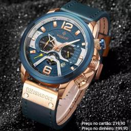 Relógio masculino importado Wishdoit