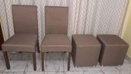 Cadeiras e Fufs em Linho
