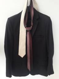 Kit 1 Terno + 2 Calças + 2 Gravatas + 1 Camisa Brooksfield