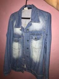 Jaqueta jeans Mercatto tamanho P
