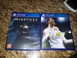 Jogos PlayStation 4 semi novos