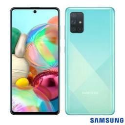 Samsung A71 128gb com nota e garantia
