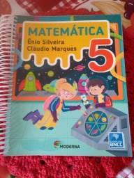Título do anúncio: Livro de Matemática 5 ano da Editora Moderna Novo