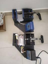 2 prensa de canecas