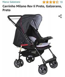 Carrinho de Bebe Galzerano Milano Reversivel II