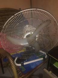 Ventilador usado com boa ventilação