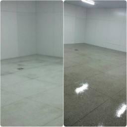Revitalização de piso