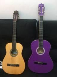 Dois violões nylon no estado
