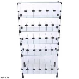 Baleiro Expositor Modulado em Vidro - 0,60 x 1,20 x 0,30