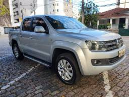 VW Amarok CD 4X4 2.0 Diesel HIGH, único dono, revisada, impecável