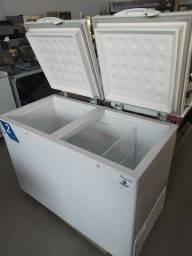 Título do anúncio: Freezer horizontal 2 tampas - 411L