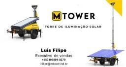 Torre de Iluminação Solar MTower