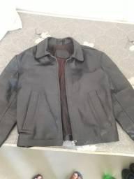 Jaqueta forro e couro