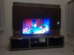 Painel de televisão com rack ( usado)