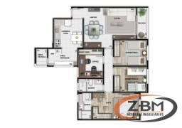 Apartamento com 4 quartos no Edifício Strauss Boulevard - Bairro Bela Suiça em Londrina