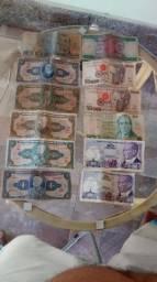 Vendo moedas antigas e cédulas