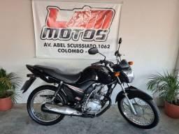 Honda Cg Fan 125cc KS 2018 Unico dono
