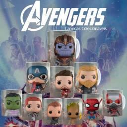 Coleção canecas Avengers