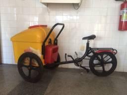 Bicicleta para sorvete e picolé