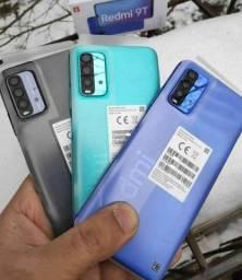 Redmi 9T 64 GB Bateria 6000 mAh Verde/Azul