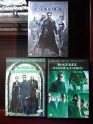 DVD da trilogia do filme Matrix