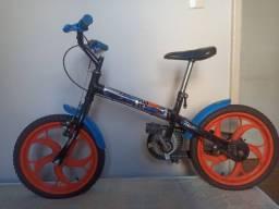 Bicicleta Infantil Aro 16 Caloi Hot Wells