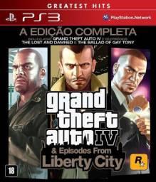 GTA 4 Ps3 Edição completa com poster