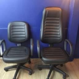 cadeira presidente temos varias cores a partir de  550,00