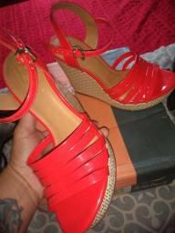 Calçados novos e usados