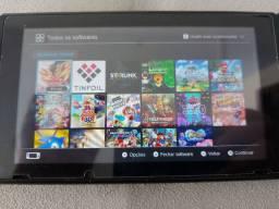 Nintendo switch desbloqueado + Pro Controller