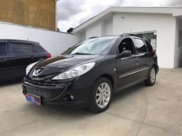 Peugeot - 207 SW XS 1.6 16V Automático Completo Preto 2012